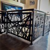 Revamp Panels Nest Pattern Fancy Custom Railing in High End Home